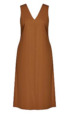 Eclectic Dress - butterscotch