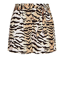 Tigress Short - tiger print