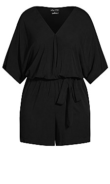 Effortless Playsuit - black