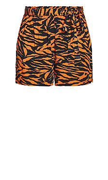 Serengeti Short - tiger print