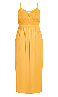 Riviera Maxi Dress - sunshine