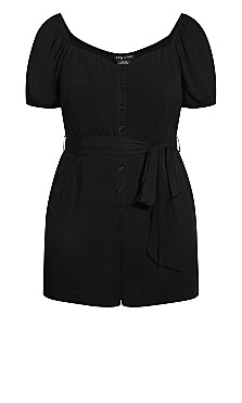 Vacation Playsuit - black