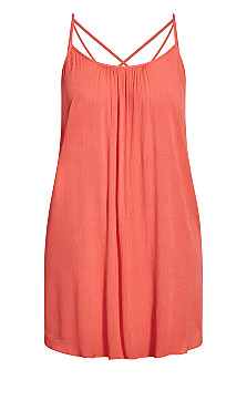 Vacation Dress - tangerine