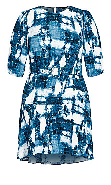 Night Out Dress - blue