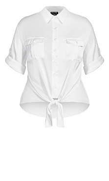Blouse About Shirt - ivory