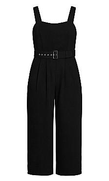 Elegant Jumpsuit - black
