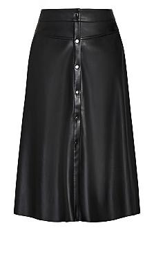 On Point Skirt - black