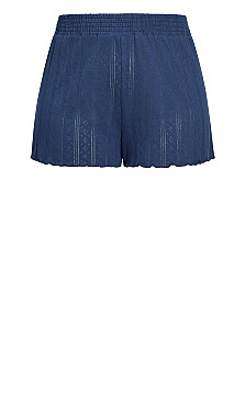 Greta Sleep Short - indigo