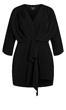 Whirlpool Dress - black