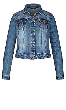 Classic Denim Jacket - denim