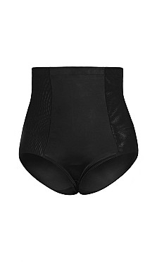 Smooth & Chic Control Brief - black