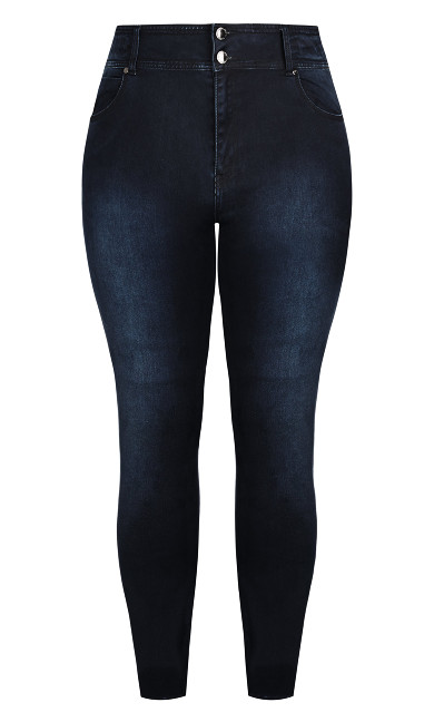 Harley Regular Skinny Jean - denim