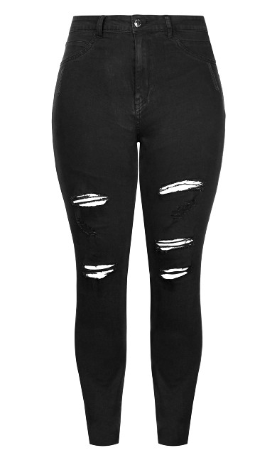 Harley Rock N Roll Skinny Jean - black