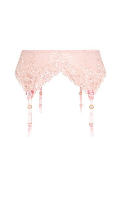 Cosette Garter Belt - blush