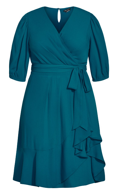 Captivate Dress - teal