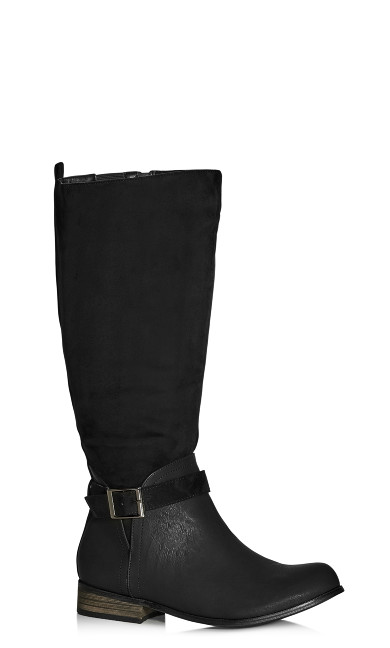 Micah Knee Boot - black