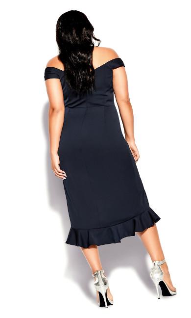 Hypnotize Dress - navy