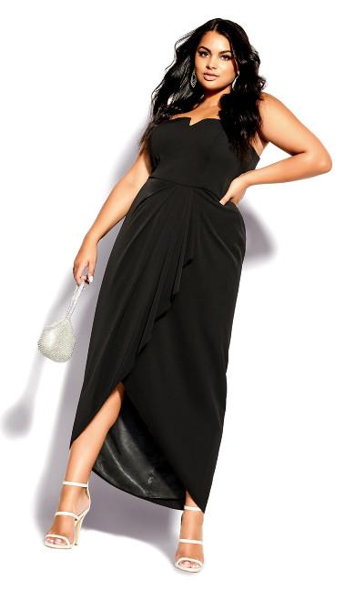 Beloved Maxi Dress - black