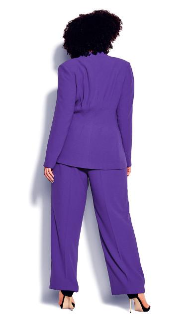 Elegance Jacket - royal purple