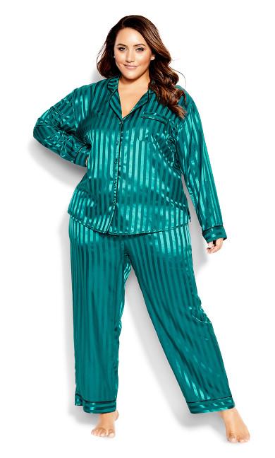 Sophia Sleep Shirt - emerald