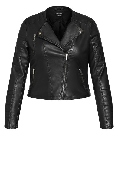 First Love Jacket - black