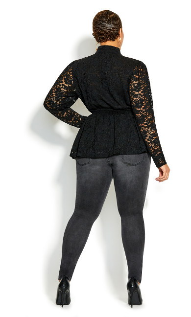 Sexy Lace Top - black