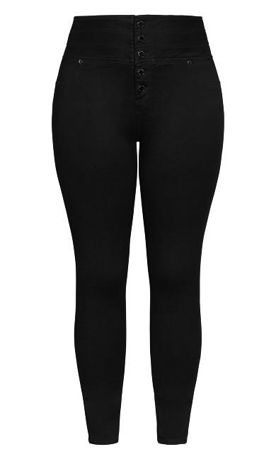 Harley Bold Skinny Jean - black