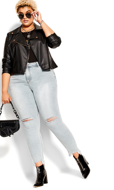 Harley Relaxed Jean - light denim