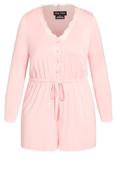 Sadie Playsuit - blush