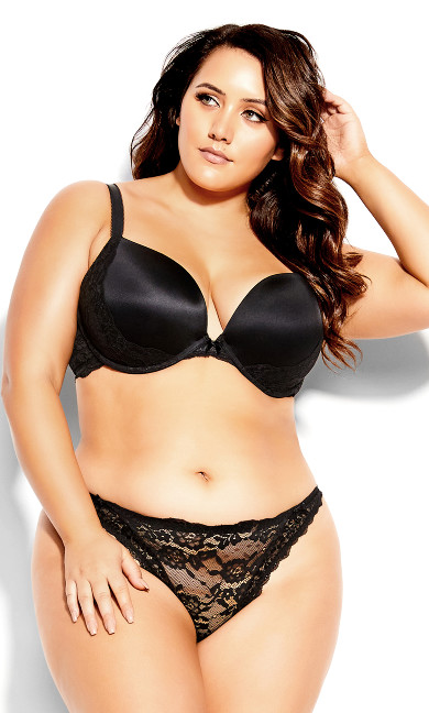 Kayla Pushup Bra - black