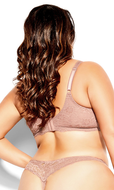 Kayla Pushup Bra - hazelnut