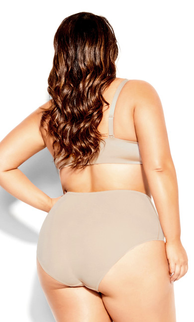 Bodycon Brief - latte