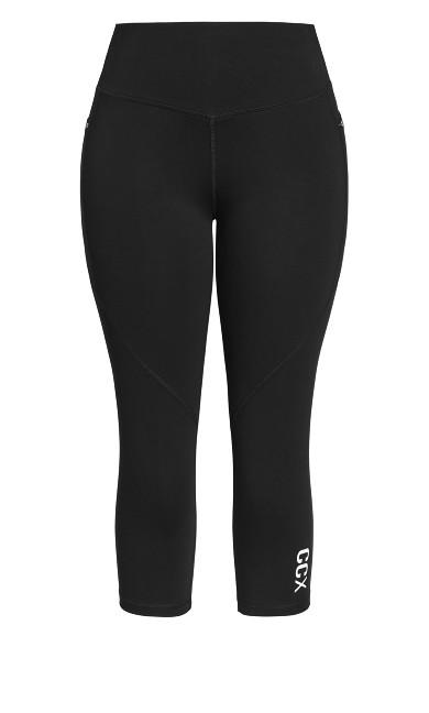 Active 3/4 Legging - black