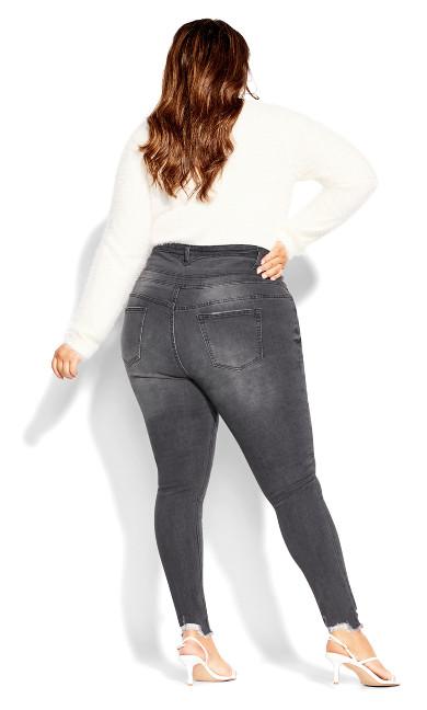 Asha Trail Blazer Jean - platinum