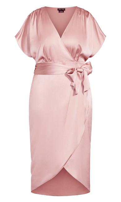 Tangled Dress - rose bud