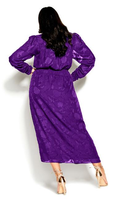 Sweet Sass Dress - petunia