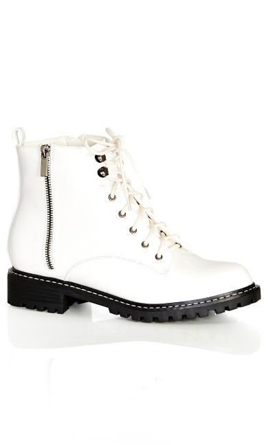 Zaneta Boot - ivory