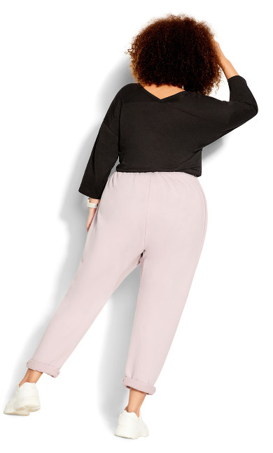 Chillax Pant - iced pink
