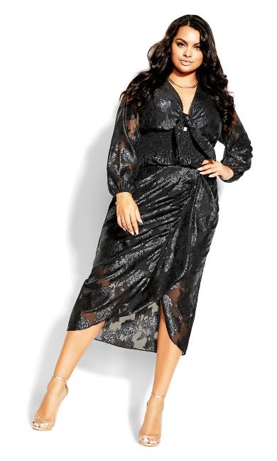 Burnout Skirt - black