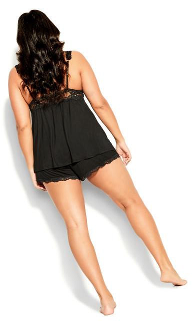 Lara PJ Set - black
