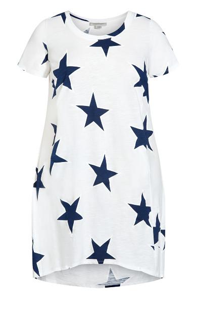 Hello Sunshine Dress - ivory star