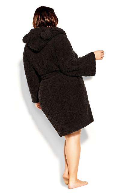 Snuggle Robe - black
