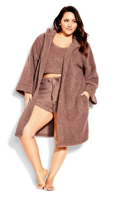 Snuggle Robe - woodrose