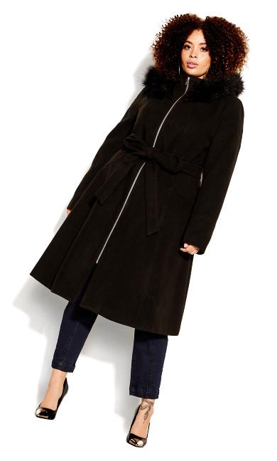 Women's Plus Size Miss Mysterious Coat