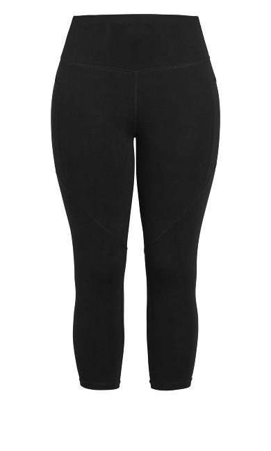 Scrunch 7/8 Legging - black