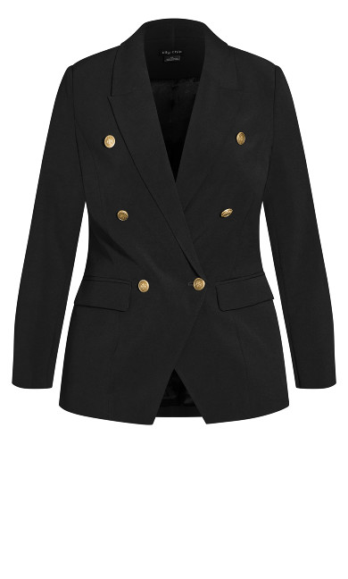 Royal Love Jacket - black