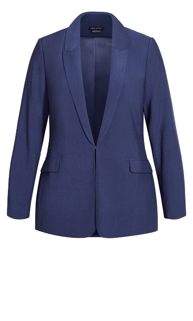 Perfect Suit Jacket - navy
