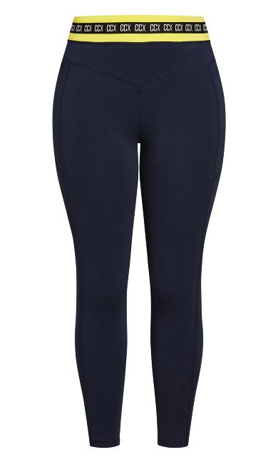Motivate Full Length Legging - navy