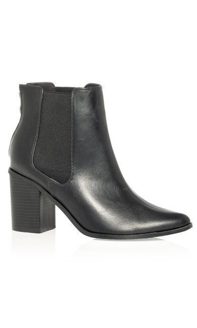 Women's Plus Size Maddie Ankle Boot - black