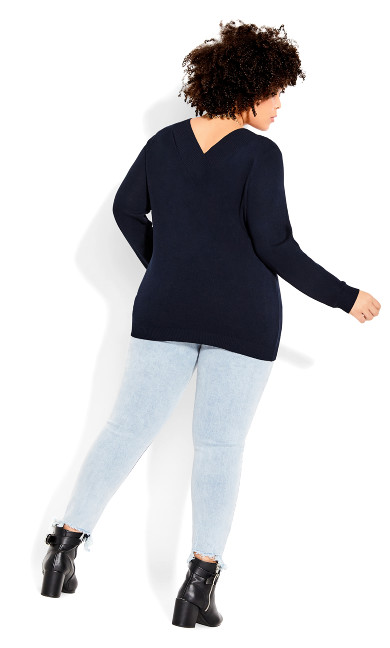 Sweet Love Jumper - navy